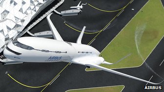 Airbus says a steeper climb would make take-offs less noisy and could shave minutes off flight times