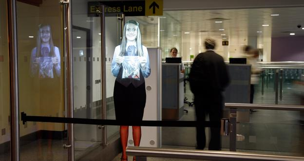 Virtual assistants are being introduced at airports around the globe to help make journeys more efficient.