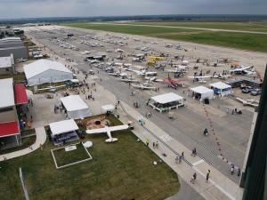 aopa fly in grounds