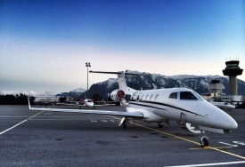 Business aircraft flights
