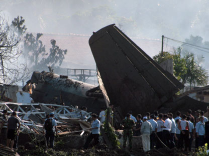 Indonesian-air-force-plane-crash