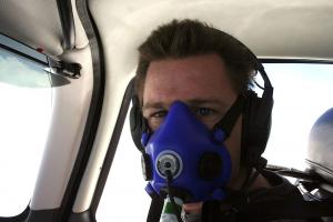 Oxygen limits for pilots