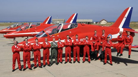 Red-Arrows-team