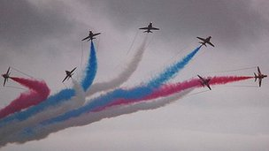 Red-Arrows-airshow