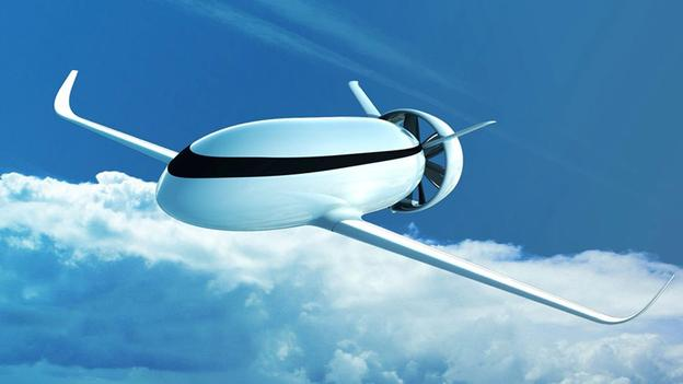 Electric motors are taken to an extreme with the Airbus VoltAir concept, which would use shrouded propellers powered entirely by batteries.