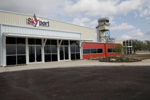 The new Redbird Skyport in San Marcos
